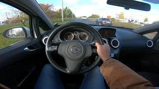 2010 Opel Corsa 1.2l Pov Test Drive