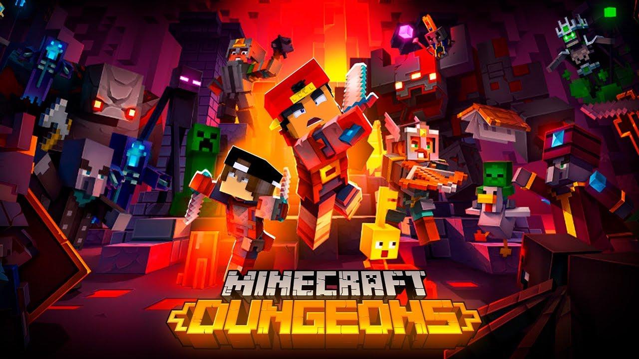 Minecraft Dungeons Level 1 Youtube