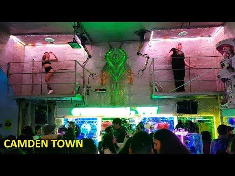 Camden Town Market - Christmas Time