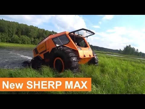 2020 SHERP MAX Off-Road Test Drive