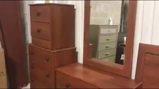 Video - Cherry Bedroom Set