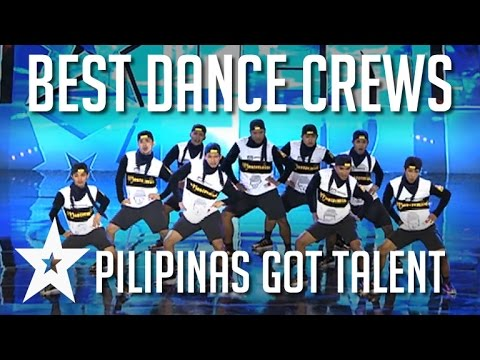 Top 5 Dance Crews On Pilipinas Got Talent 2016