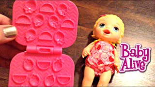 Baby Alive Super Snackin' Lily Blonde Doll Unboxing
