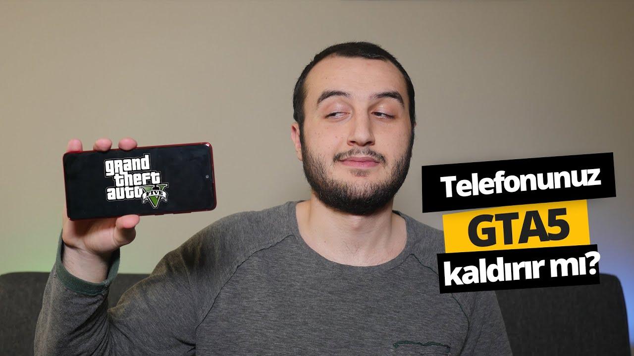 GTA 5 Mobile oynadık! (BU NASIL GTA?!)