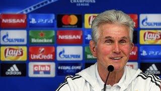 Jupp Heynckes ahead of RSCA - FC Bayern