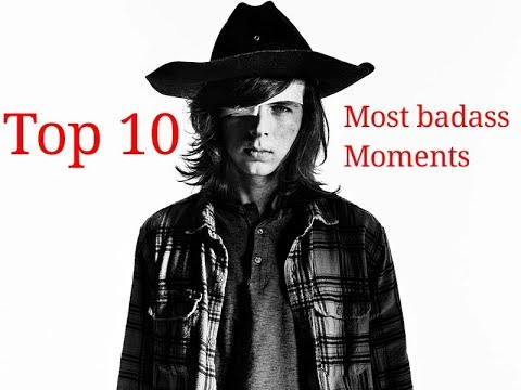 Carl Grimes Top 10 Most badass Moments