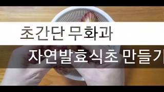 식초 # 무화과 자연발효식초#무화과 자연 발효 식초 만…