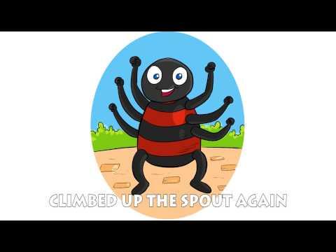 Ipsy Dipsy Spider Nursery Rhyme