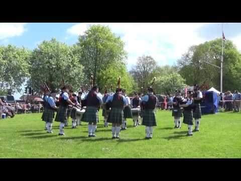 St. Lawrence Howth Pipe Band @ Ards & North Down Pipe Band Championships 2016