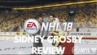 NHL 18 HUT ~ Player Review - Sidney Crosby (INSANE CARD!!!)