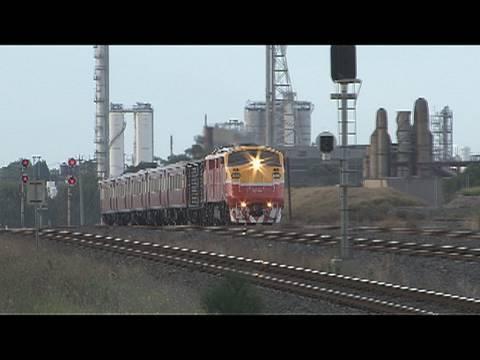 Railways in Australia; EMD's down under; V/Line A class