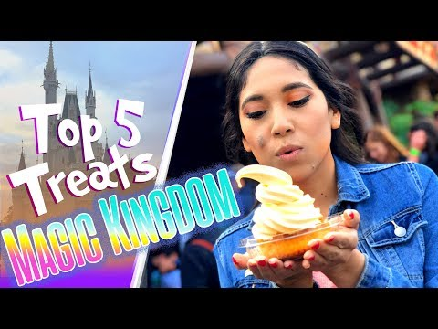 Top 5 Magic Kingdom Treats! | Walt Disney World