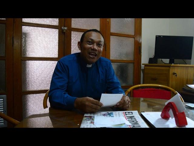 Padre Albey José De la Hoz Ortiz habla del 'Templotón'