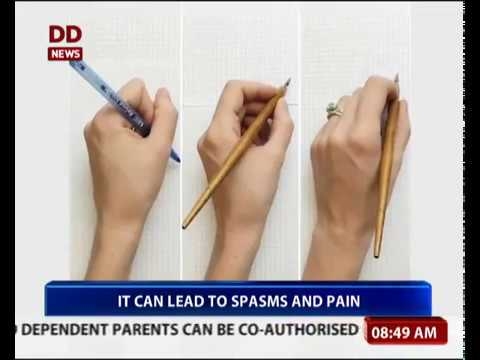 Writer's Cramp: Treatment, Causes and Symptoms | 27/11/2017