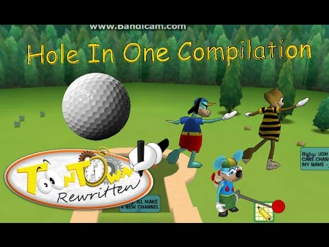 Toontown Rewritten: Golf Hole In One Compilation!