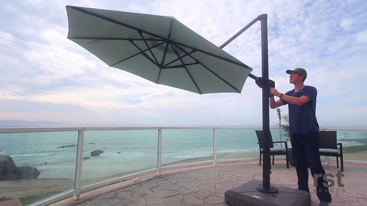 Introducing 10 Round Offset Umbrella