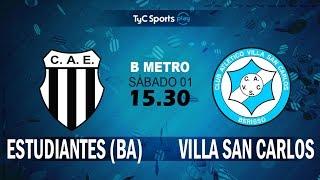 Club Atlético Est. vs Villa San Carlos full match