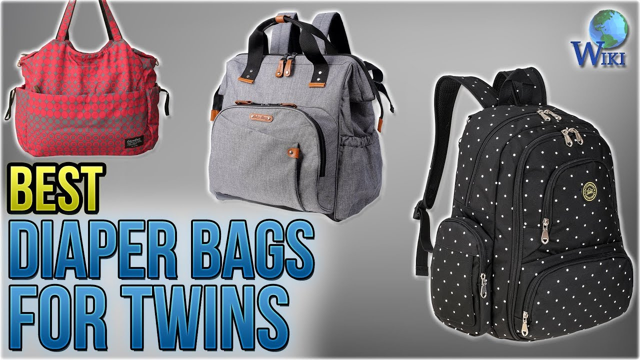 10 Best Diaper Bags For Twins 2018
