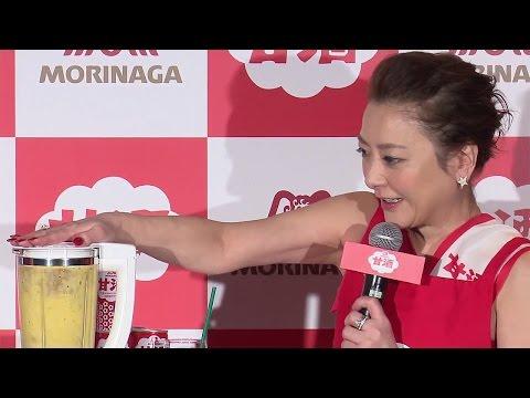 西川史子、料理は「まったく…誰かのためじゃないと」 「森永甘酒ビューティーメニュー発表会」3
