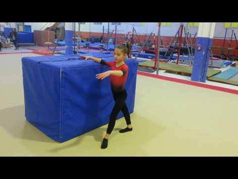 Giro IMPUGNATO allenamento TUTORIAL ginnastica artistica csb