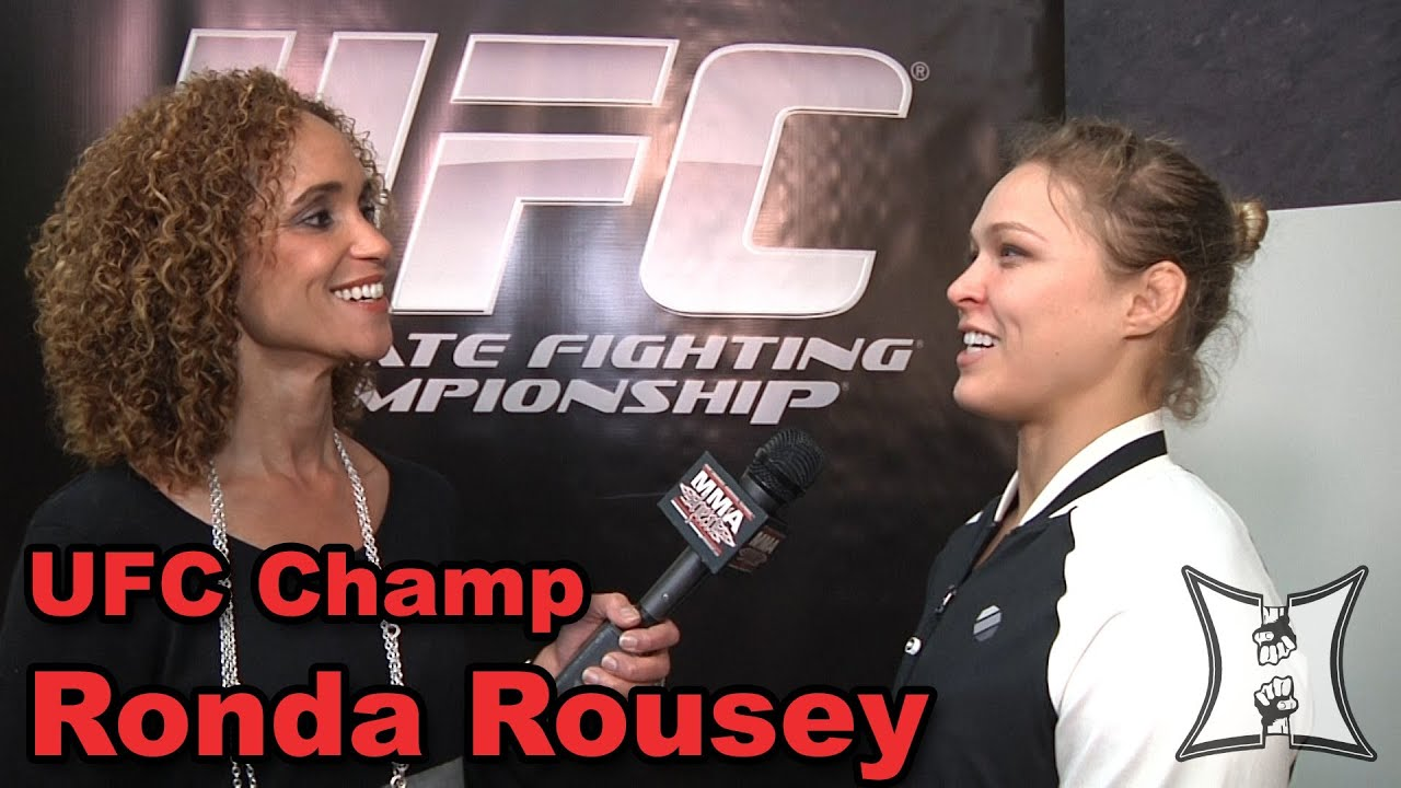 Ronda Rousey Tattoo: UFC 157's Ronda Rousey On Pre-Fight Smack Talk, Beating