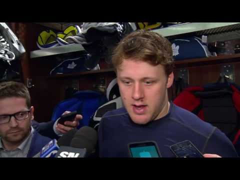 Maple Leafs Post-Game: Morgan Rielly - March 20, 2017