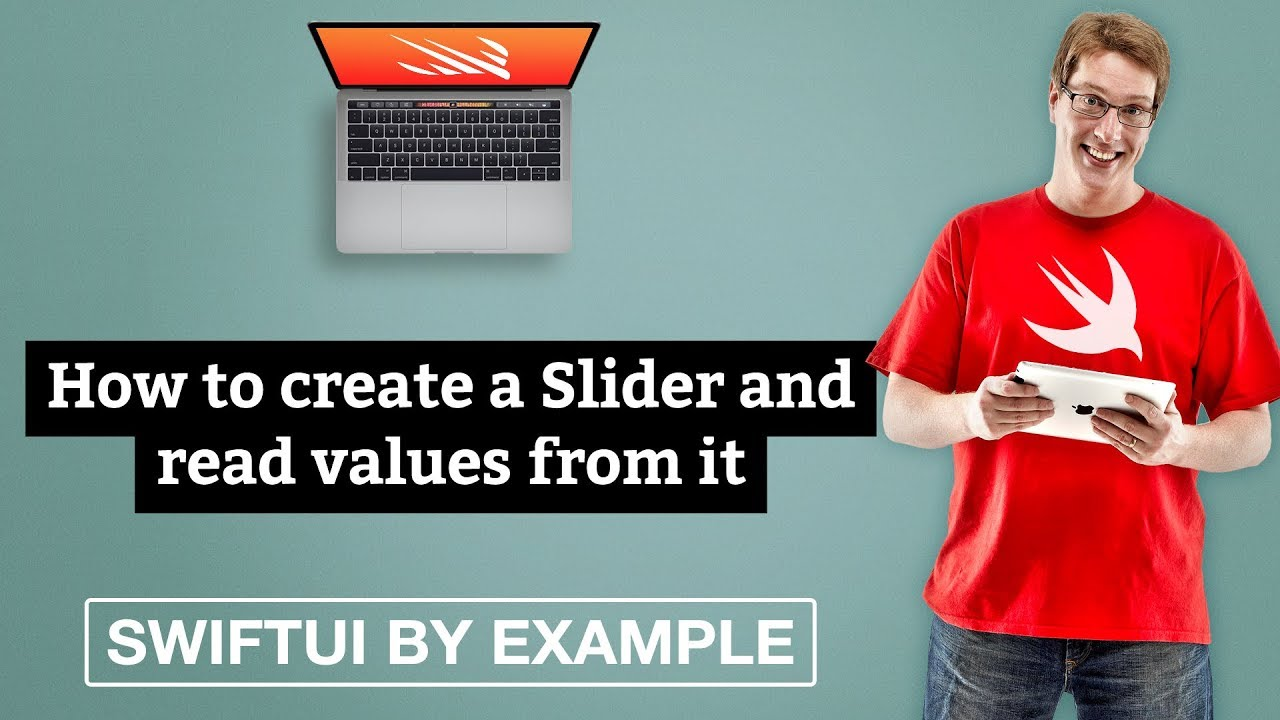 How to create a Slider and read values from it - SwiftUI by Example