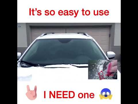 Snow & Ice Windshield Protector - The Wonder House Store