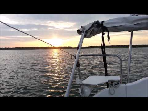 MacGregor 26M - Galactica sailing Cape Fear. Part Two: Coast