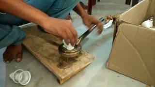 LED bulbs making process