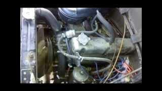 УАЗ 452 Д замена двигателя