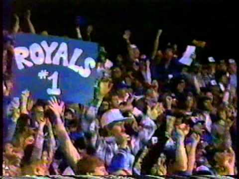 Royals Win 1985 World Series!!