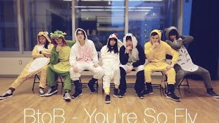 [EAST2WEST][KAWAII COVER] 넌 감동이야 (You're So Fly) - 비투비 (BTOB…
