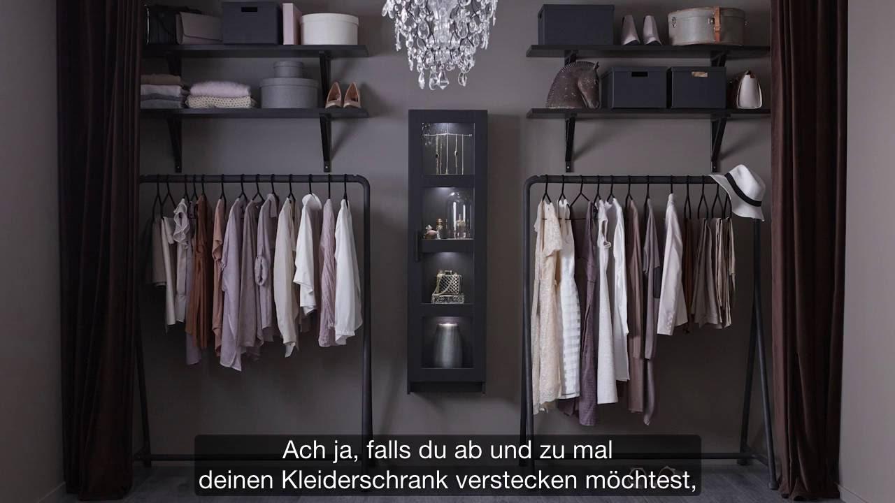 Ikea Offener Kleiderschrank Fur Modefans Youtube