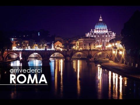 Image result for arrivederci roma!