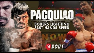 MANNY PACQUIAO | BOXERS LIGHTING FAST HANDS SPEED EP. 2