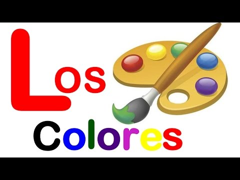 The Colors in Spanish - Lesson #5 - Learn Spanish