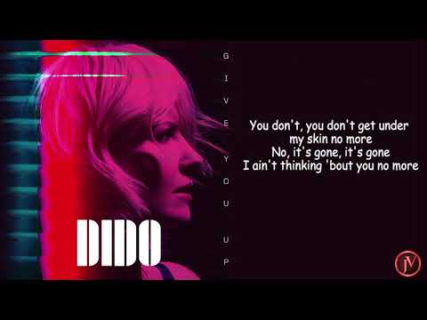 Dido - Give You Up- LYRICS Mp3