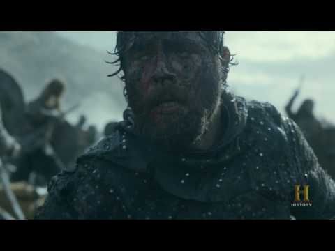 Great Heathen Army vs. Aethelwulf Wessex Army - Vikings 4x20