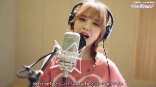 [ENGSUB] Jimin (AOA) ft. Xiumin (EXO) - Call You Bae (야 하고 싶어) Recording Kenneth RvMurray