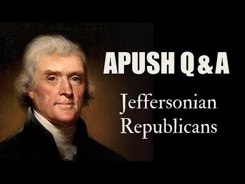 APUSH Q&A: Were Jeffersonian Republicans Anti-Federalists?