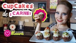 Cupcakes De Carne ♥ Meatloaf Cupcakes Inspired By Victoria Paikin
