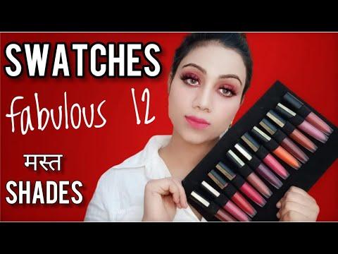 FABULOUS 12    LIP SWATCHES    Loreal Paris Rogue Signature Lipsticks    Fabulous Zara