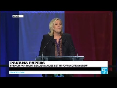 Panama Papers: Far-right leader Le Pen's aides implicated in offshore scandal