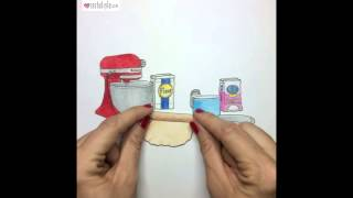 Easy As Pie! - Stop Motion Animation By Rachel Ryle