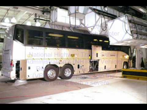 MCI NHTSA Bus Crash Test.