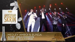 Download Medley Amboi & Bunga - Altimet, Amelia Henderson, Shawn Lee, Raja Syahiran | #ASK2018 Mp3