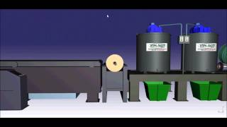 Детальное рассмотрение линии по производству ковровых покрытий из резиновой крошки НПРК-ЛИДЕР