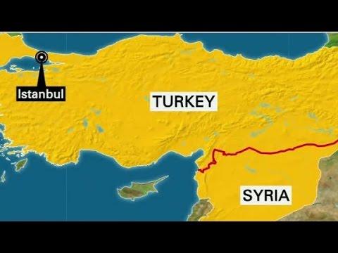 Turkey shoots down aircraft near Syrian border