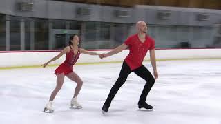 Chelsea Liu and Danny O Shea 2021 Glacier Falls Summer Classic SP